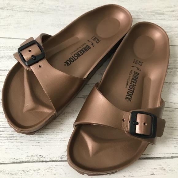 3bf8953bb78 Birkenstock Shoes - Birkenstock Madrid Eva Copper